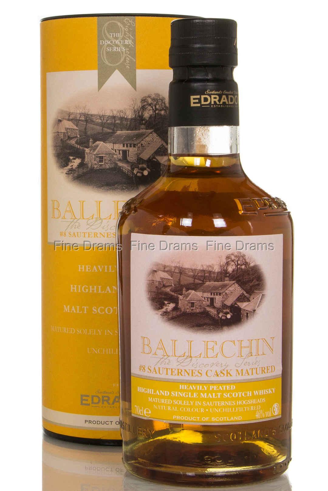 Ballechin 8 Sauternes Cask Matured