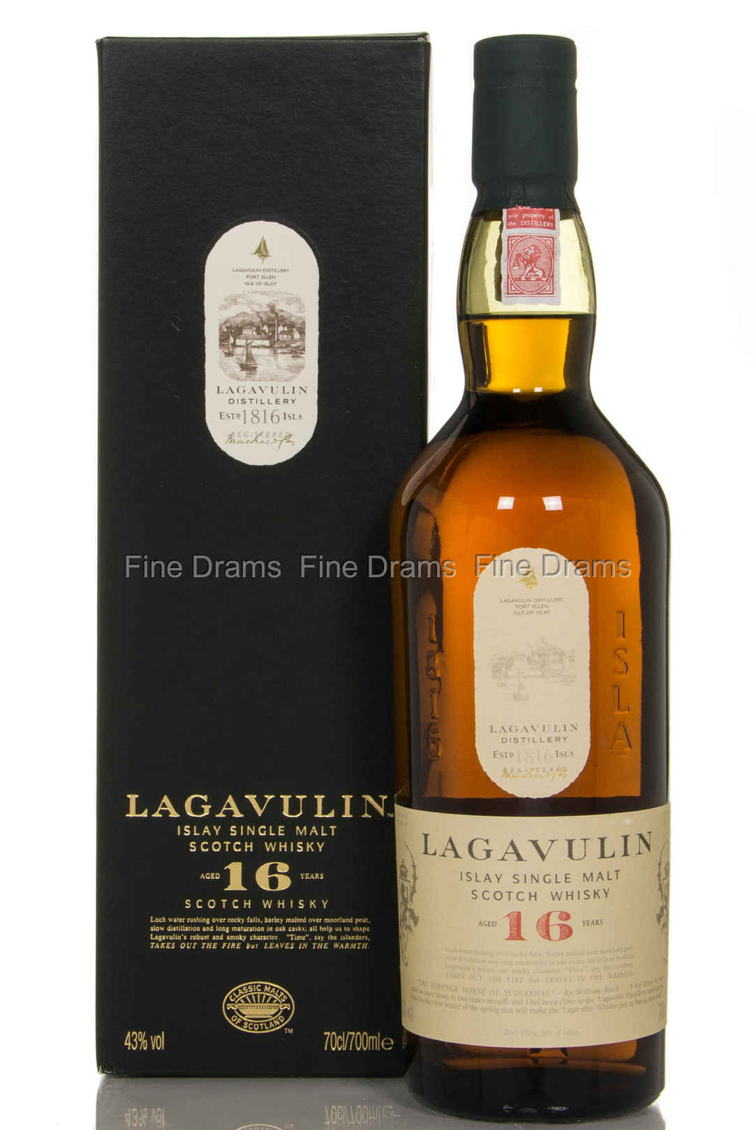 Lagavulin 16 Whisky Scotch Single Malt