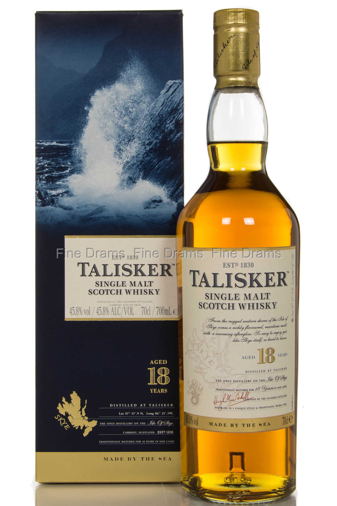 18 Years Old Vietnamese: Talisker 18 Year Old Scotch Single Malt Whisky