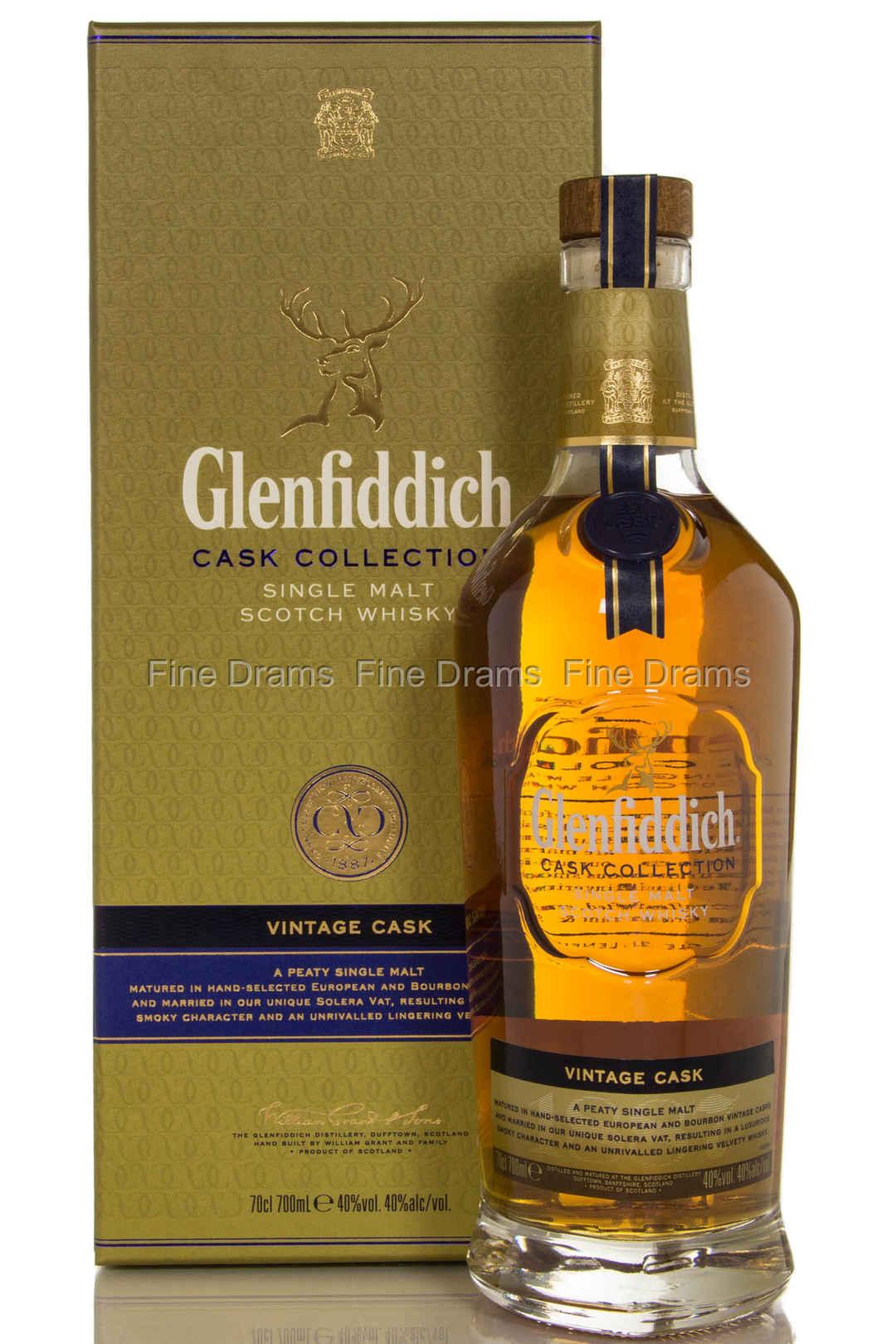 Glenfiddich Cask Collection Vintage Cask Single Malt