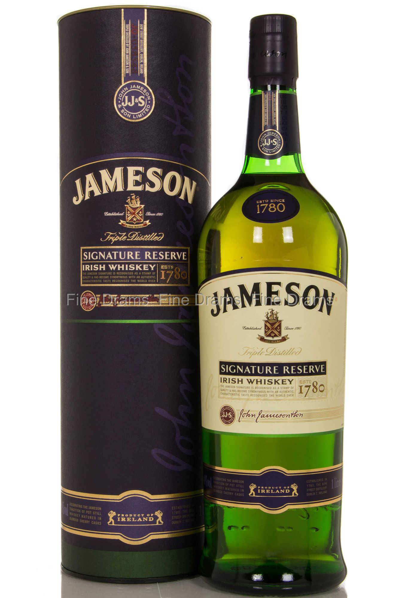 Jameson Signature Reserve Irish Blended Whiskey