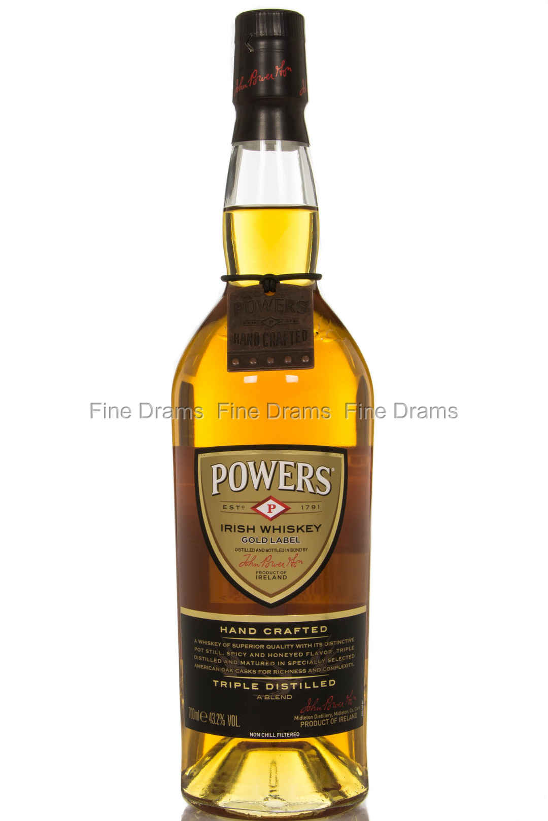 powers gold label irish blended whiskey