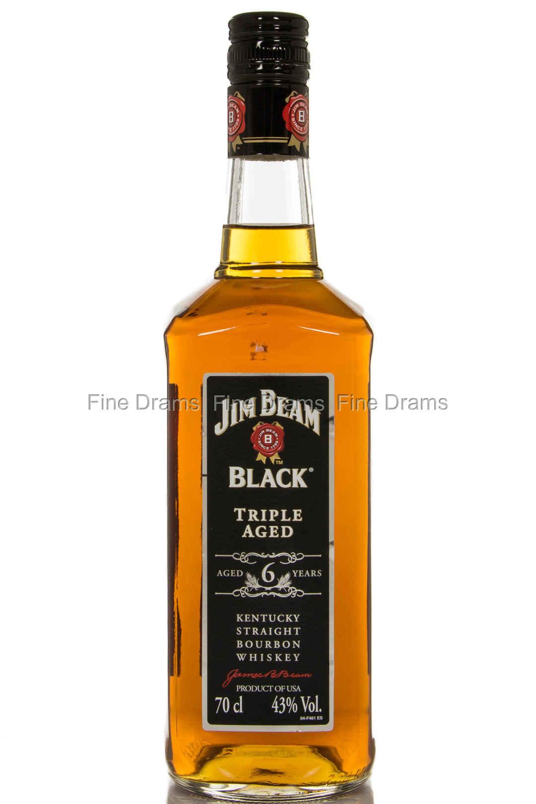 Jim Beam Black 6 Year Old Bourbon Whiskey