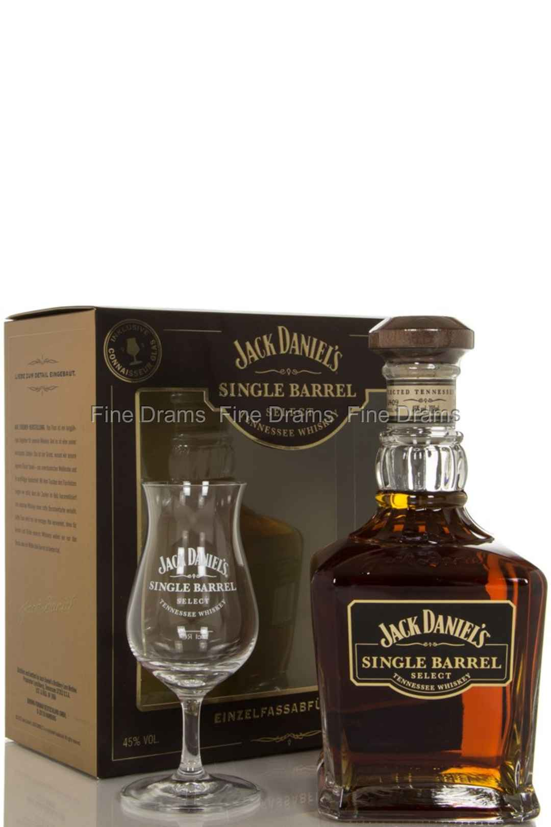 Jack Daniel's Single Barrel Gift Pack - 1 Glass