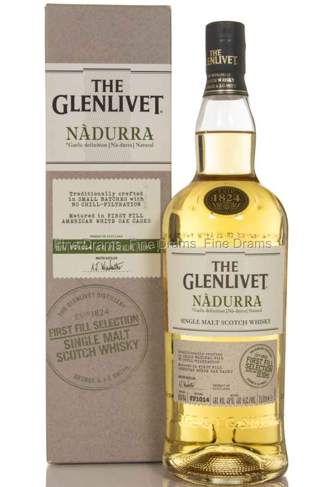 glenlivet nadurra first fill american white oak 1 liter whisky