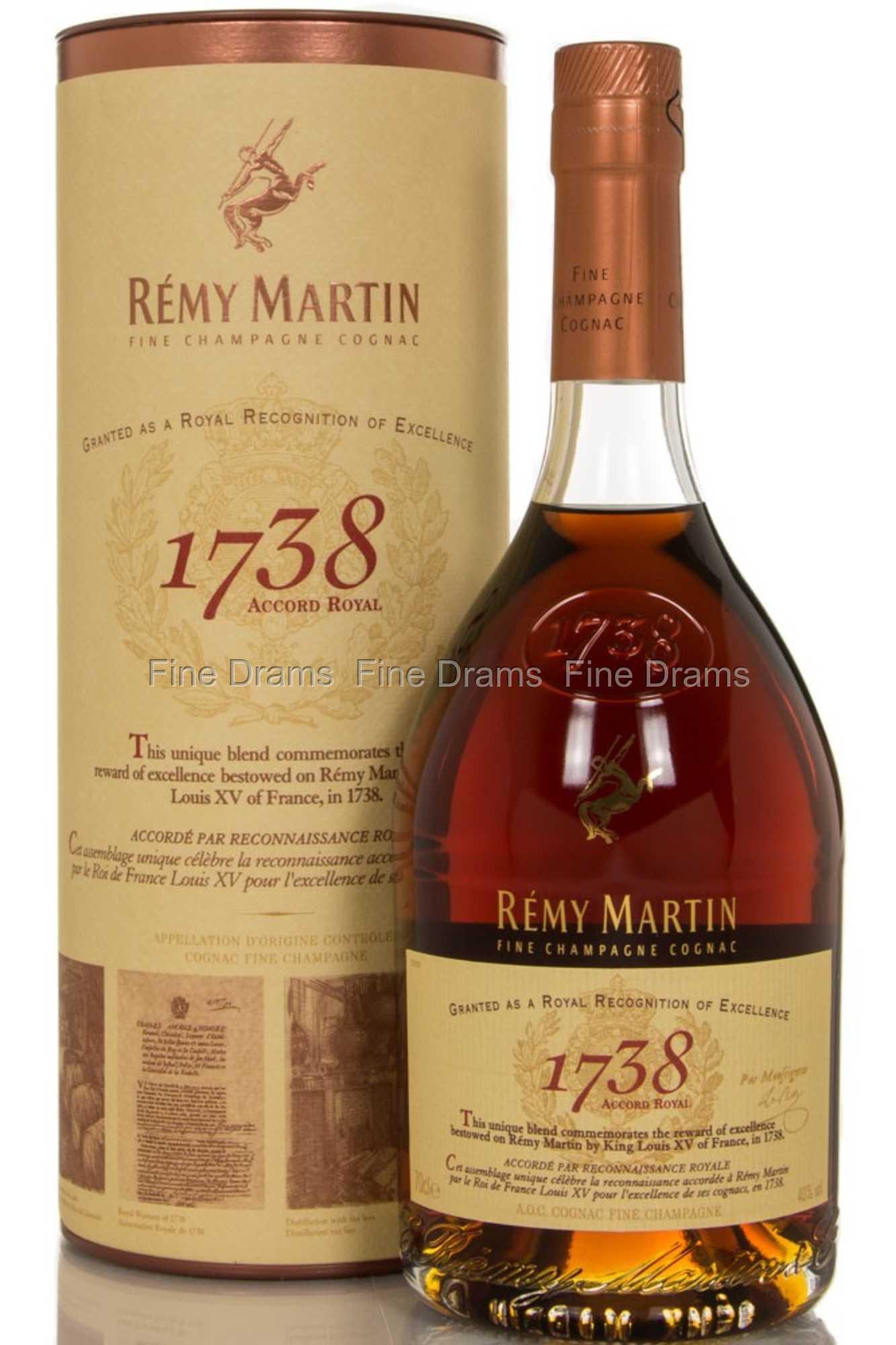 Remy martin 39 1738 39 accord royal cognac - Tennessee cognac ...