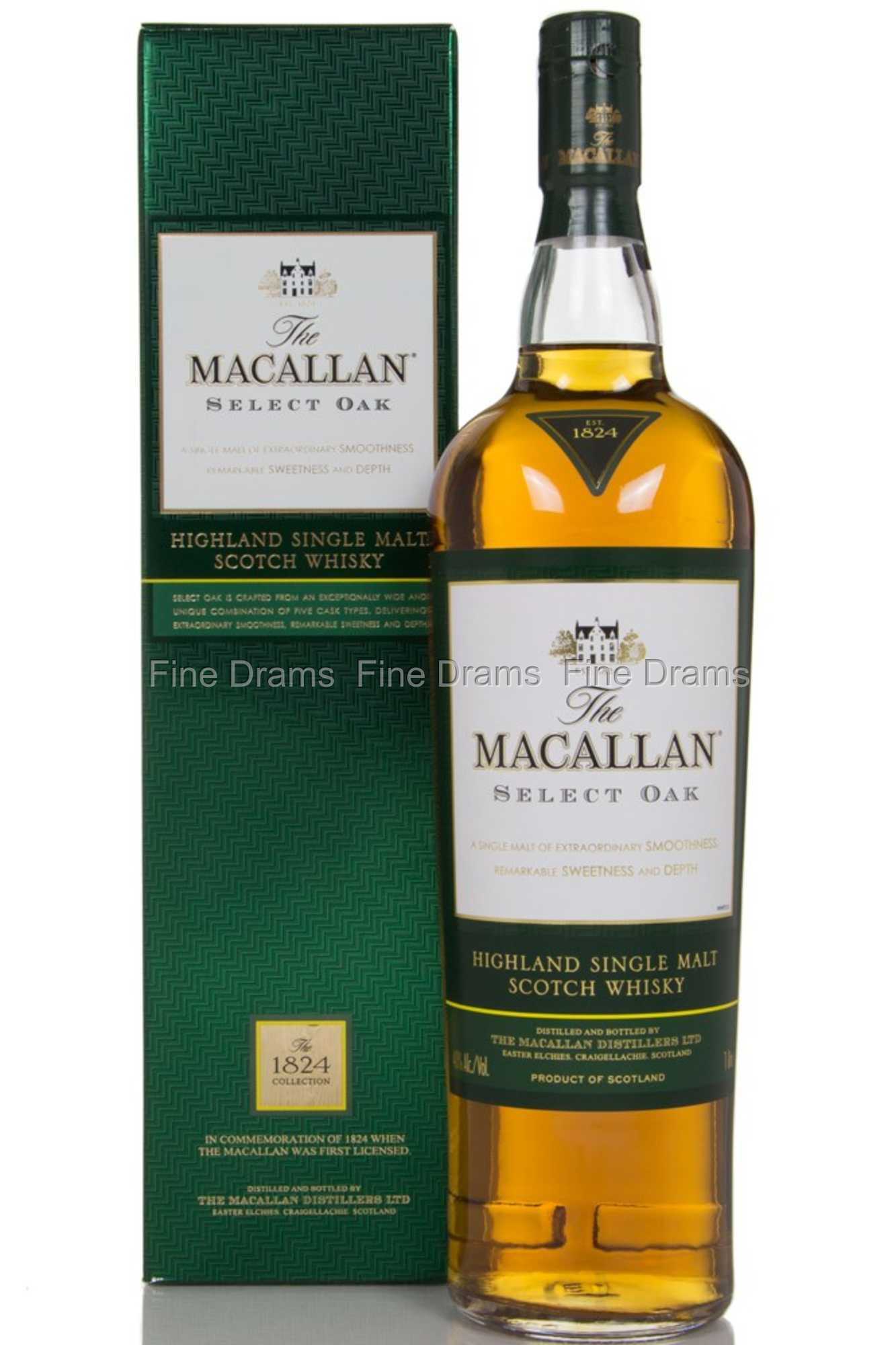macallan select oak 1 liter scotch whisky