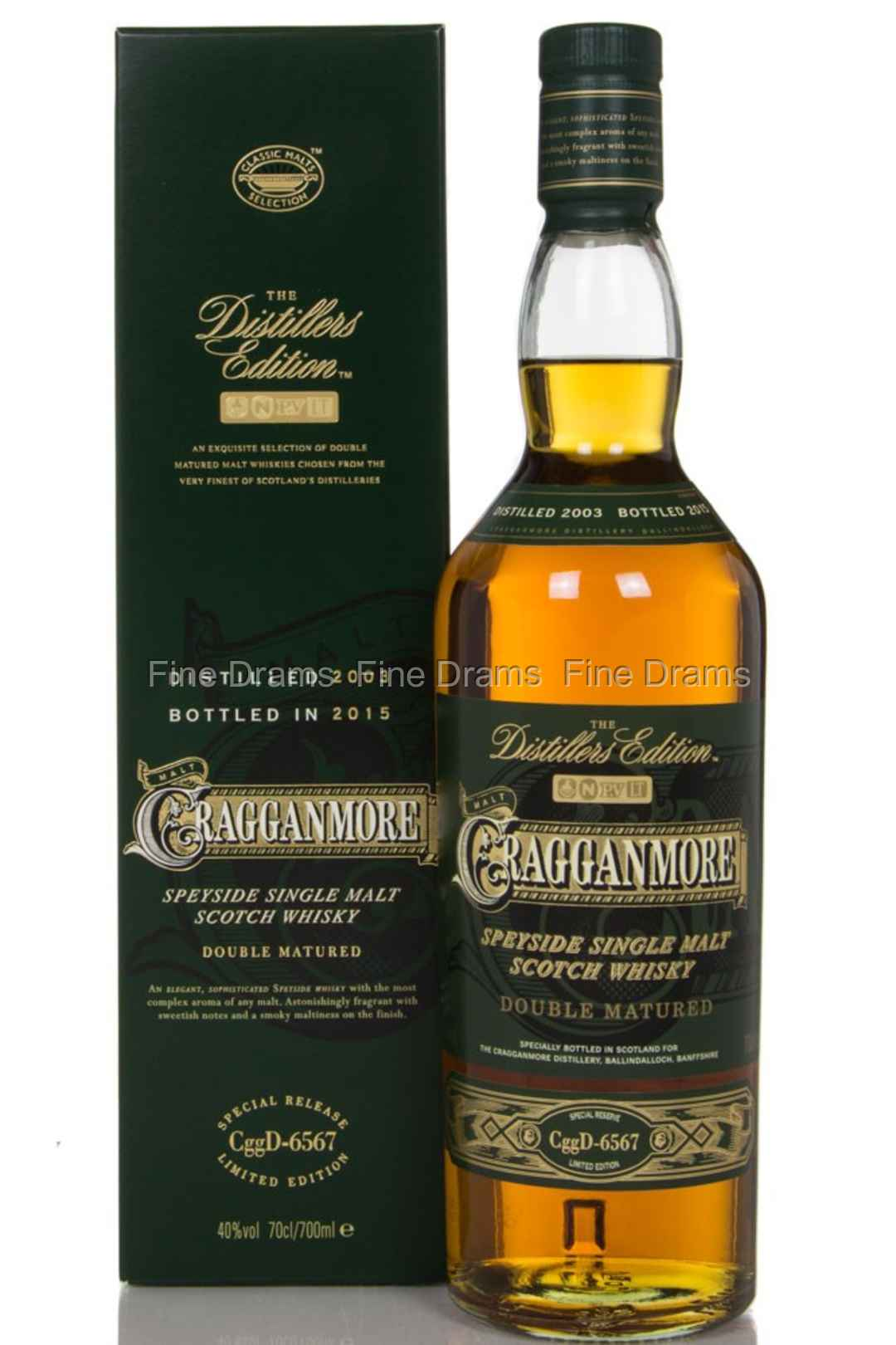 Review #44: cragganmore distiller's edition 2000: scotch.