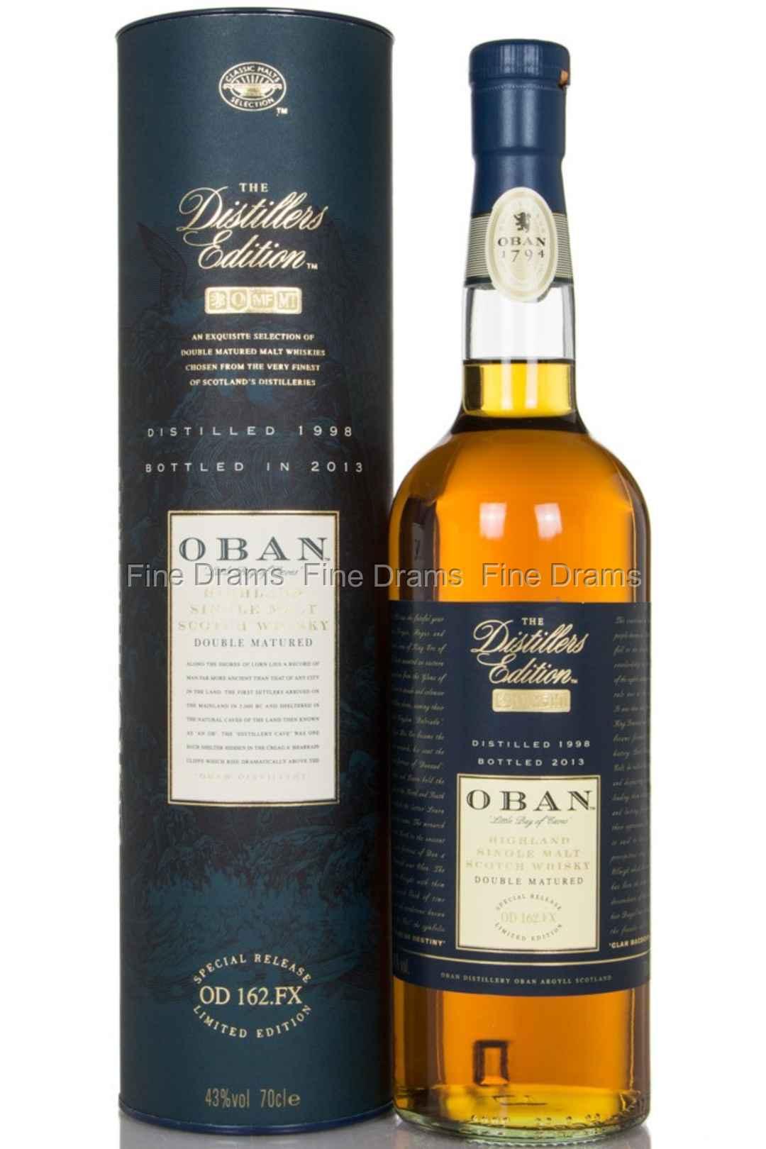 Product details | oban distillers edition 1998 (bottled in 2013.