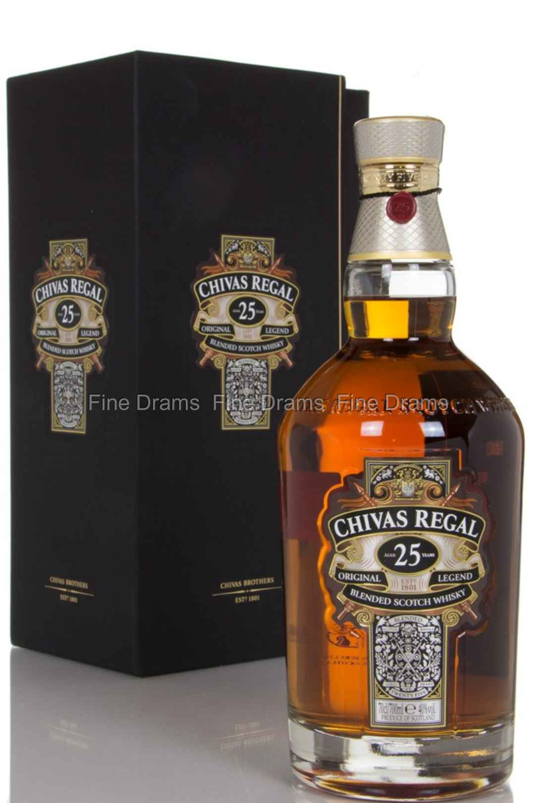 a558124d04f Chivas Regal 25 Year Old Blended Whisky