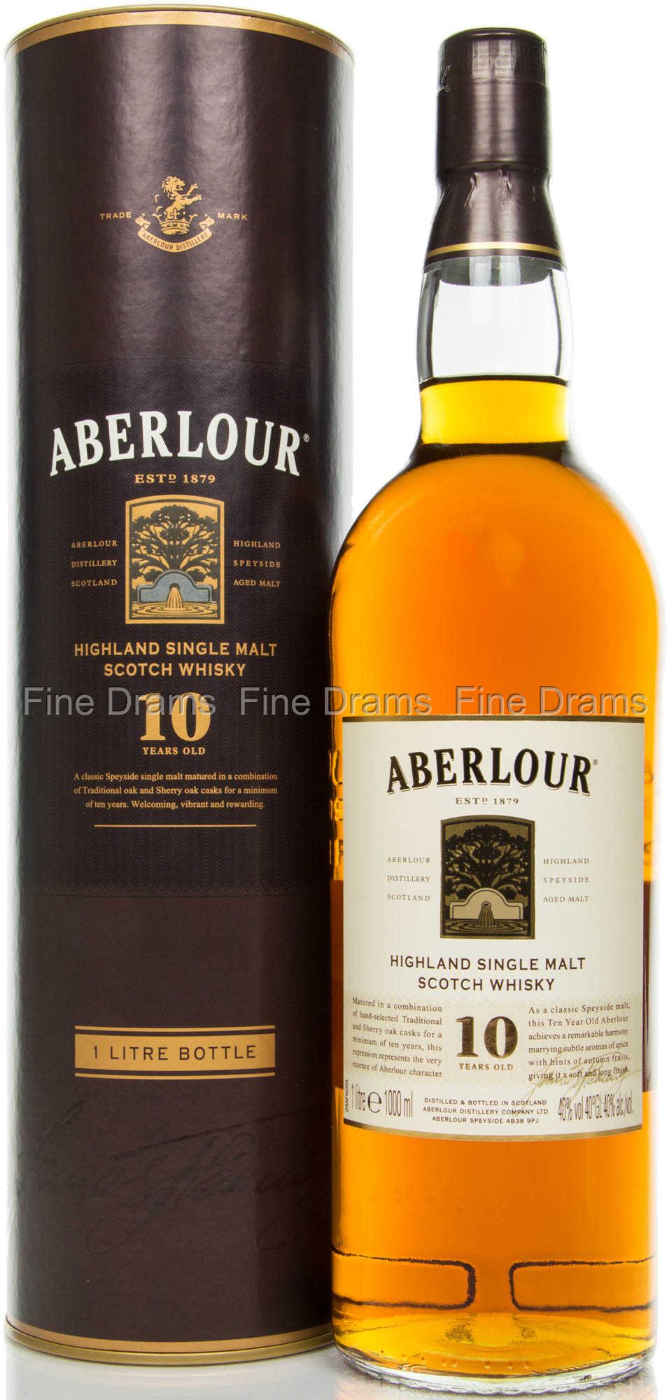 aberlour 10 year old whisky 1 liter. Black Bedroom Furniture Sets. Home Design Ideas