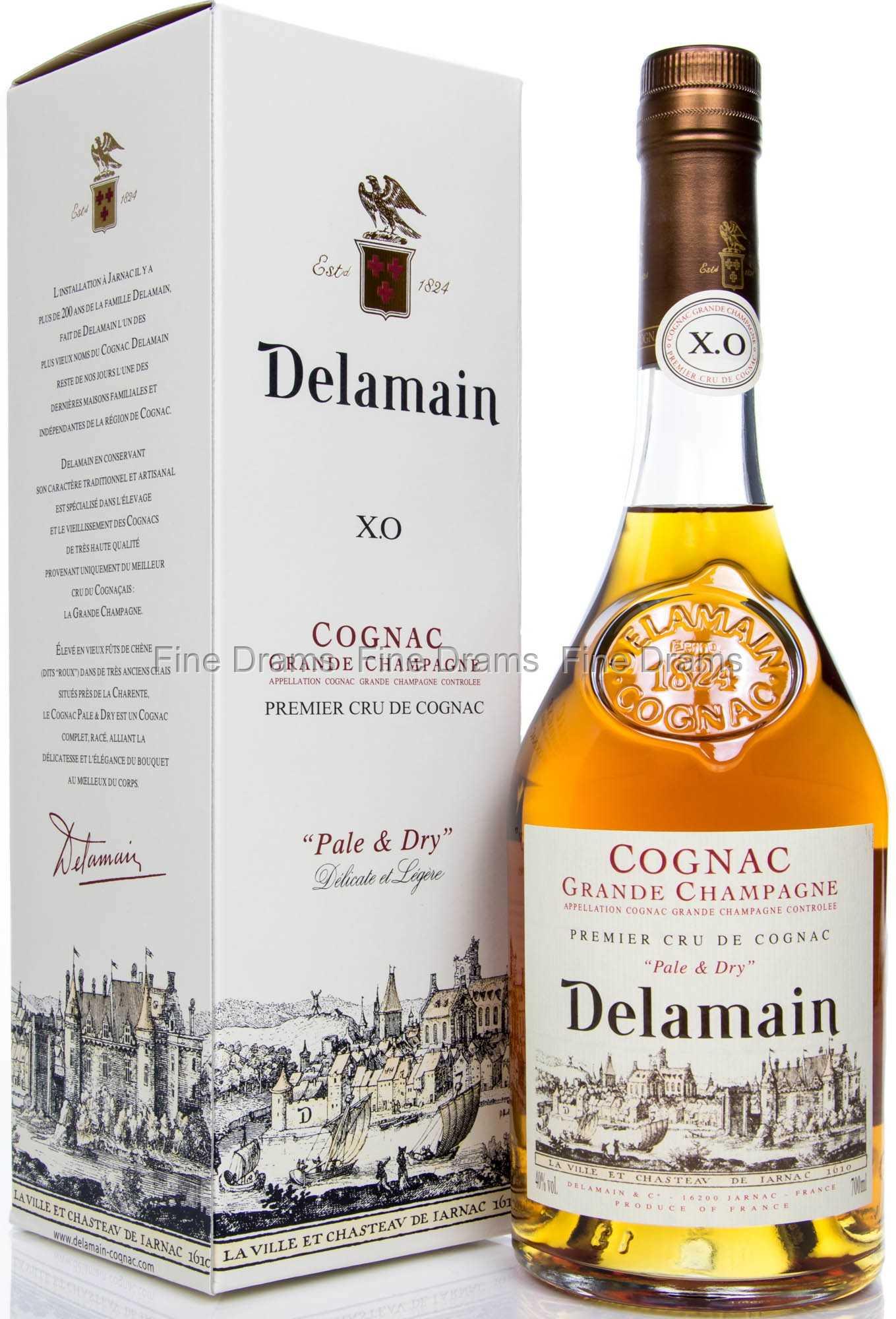 Delamain pale dry xo cognac - Tennessee cognac ...