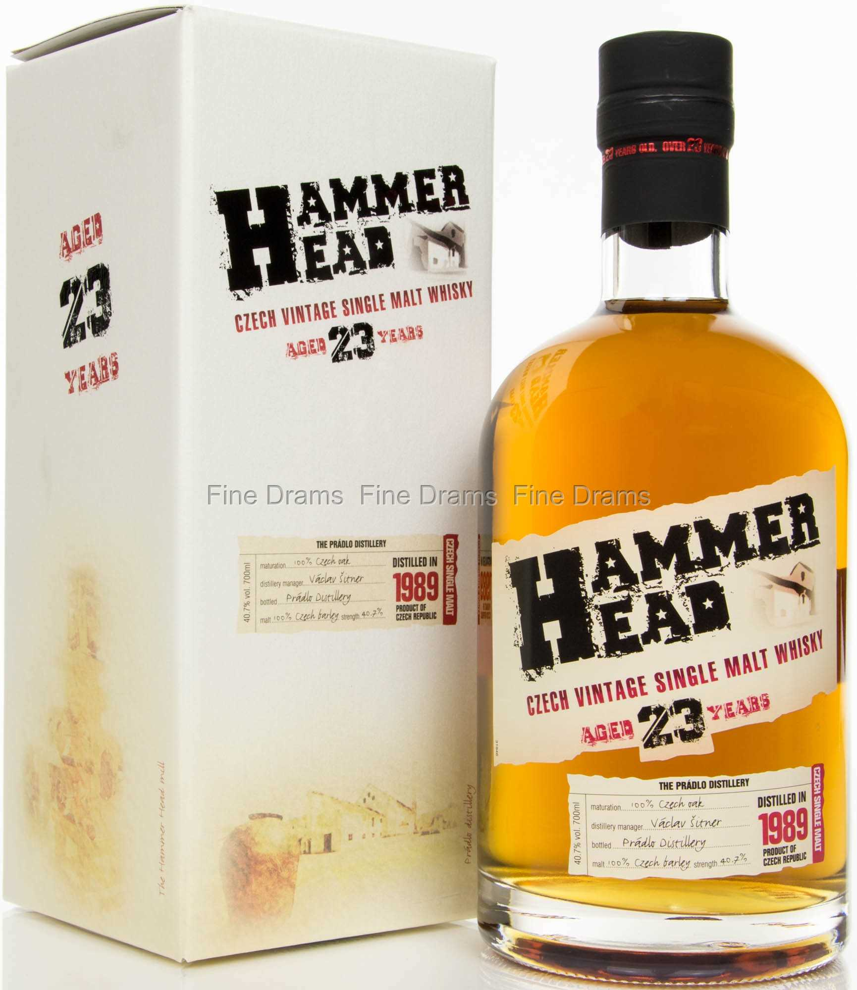 Hammerhead 23 Year Old Czech Single Malt Whisky