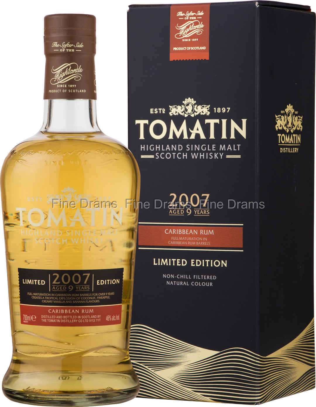 Image result for tomatin 2007 caribbean rum