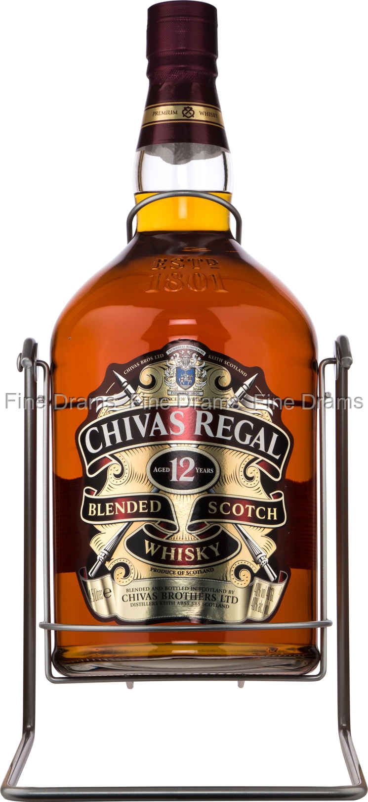 77676619a4a Chivas Regal 12 Year Old Whisky - 4.5 Liter