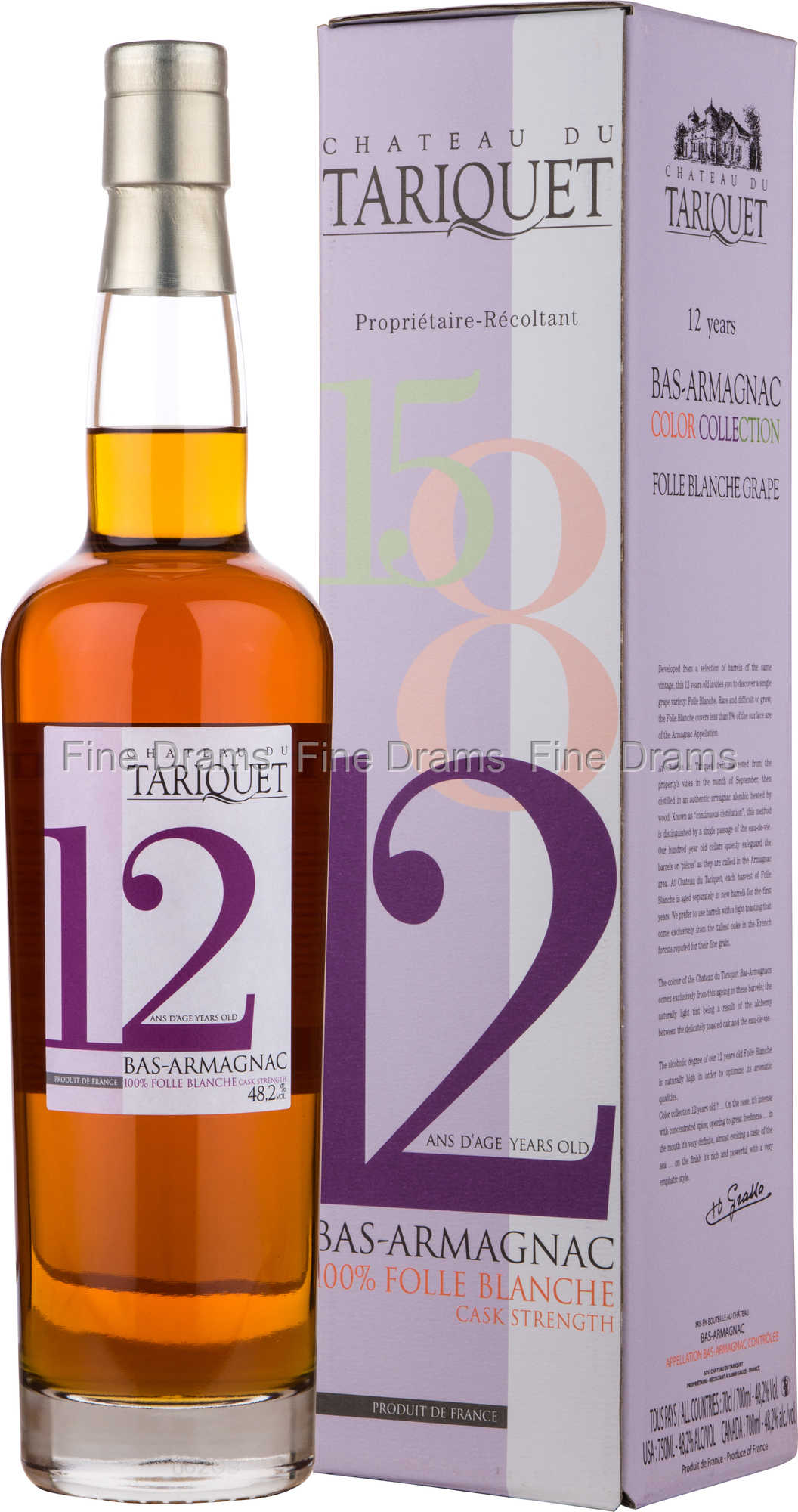 Chateau Du Tariquet 12 Year Old Cask Strength Armagnac