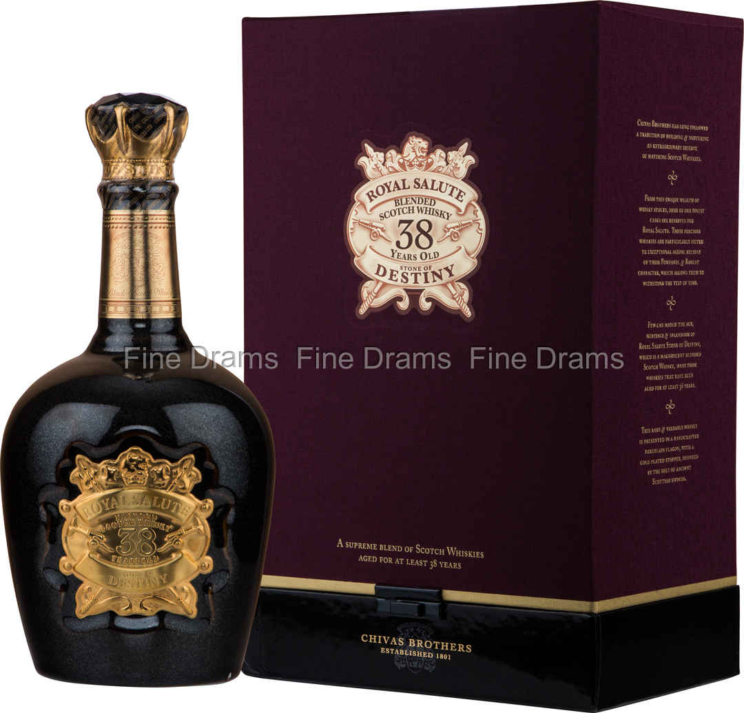 chivas regal royal salute 38 year old stone of destiny whisky