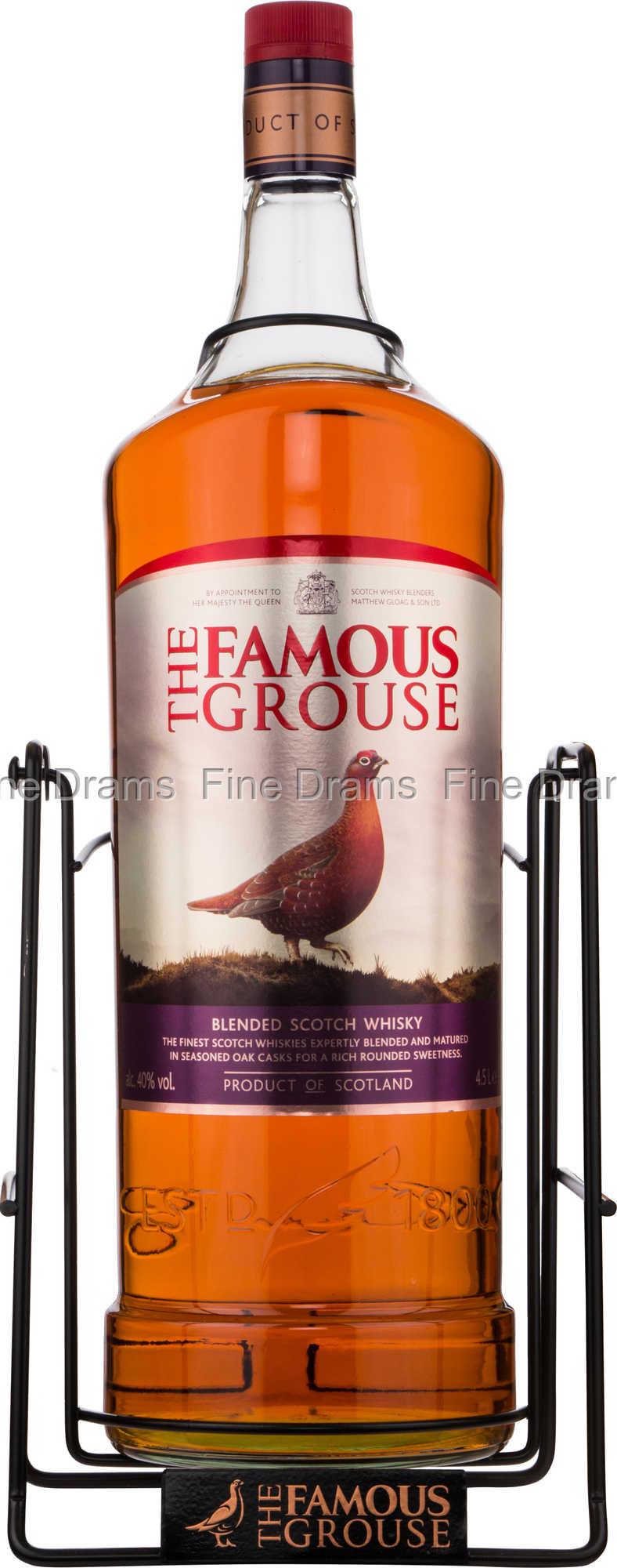 famous grouse whisky 4 5 liter. Black Bedroom Furniture Sets. Home Design Ideas