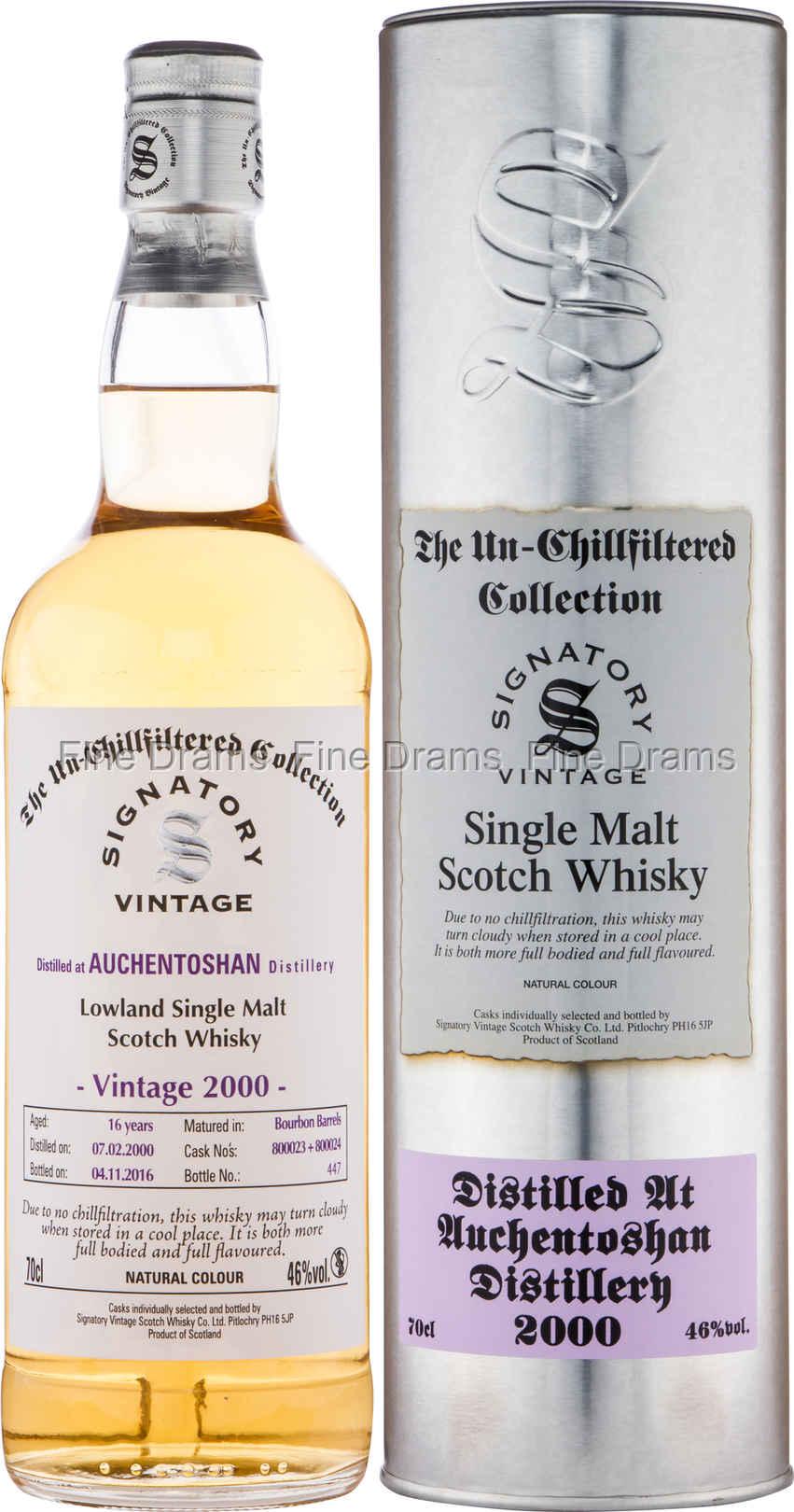 Auchentoshan 16 Year Old 2000 Whisky Cask 800023