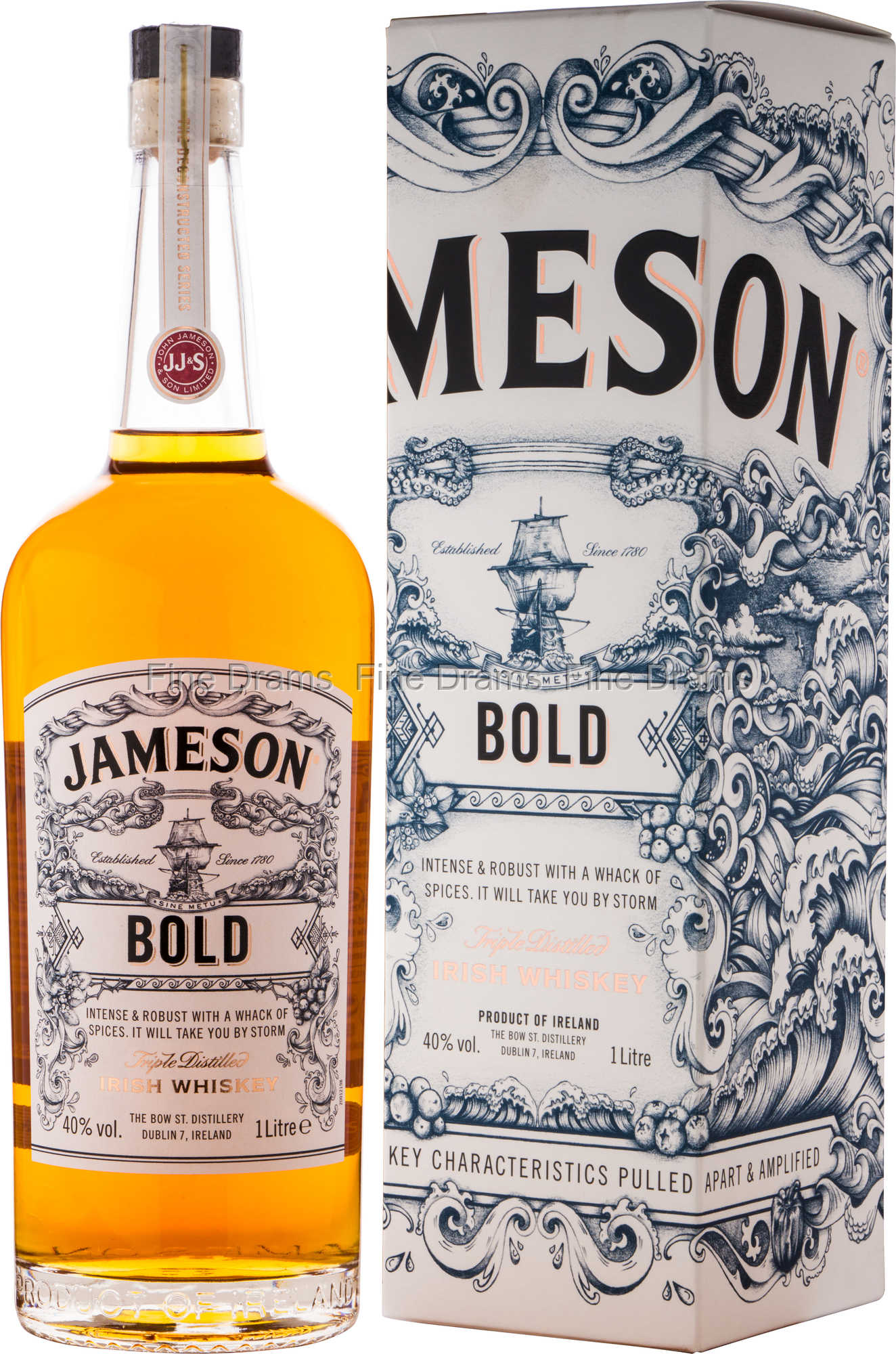 Jameson Deconstructed Series Bold Whisky 1 Liter