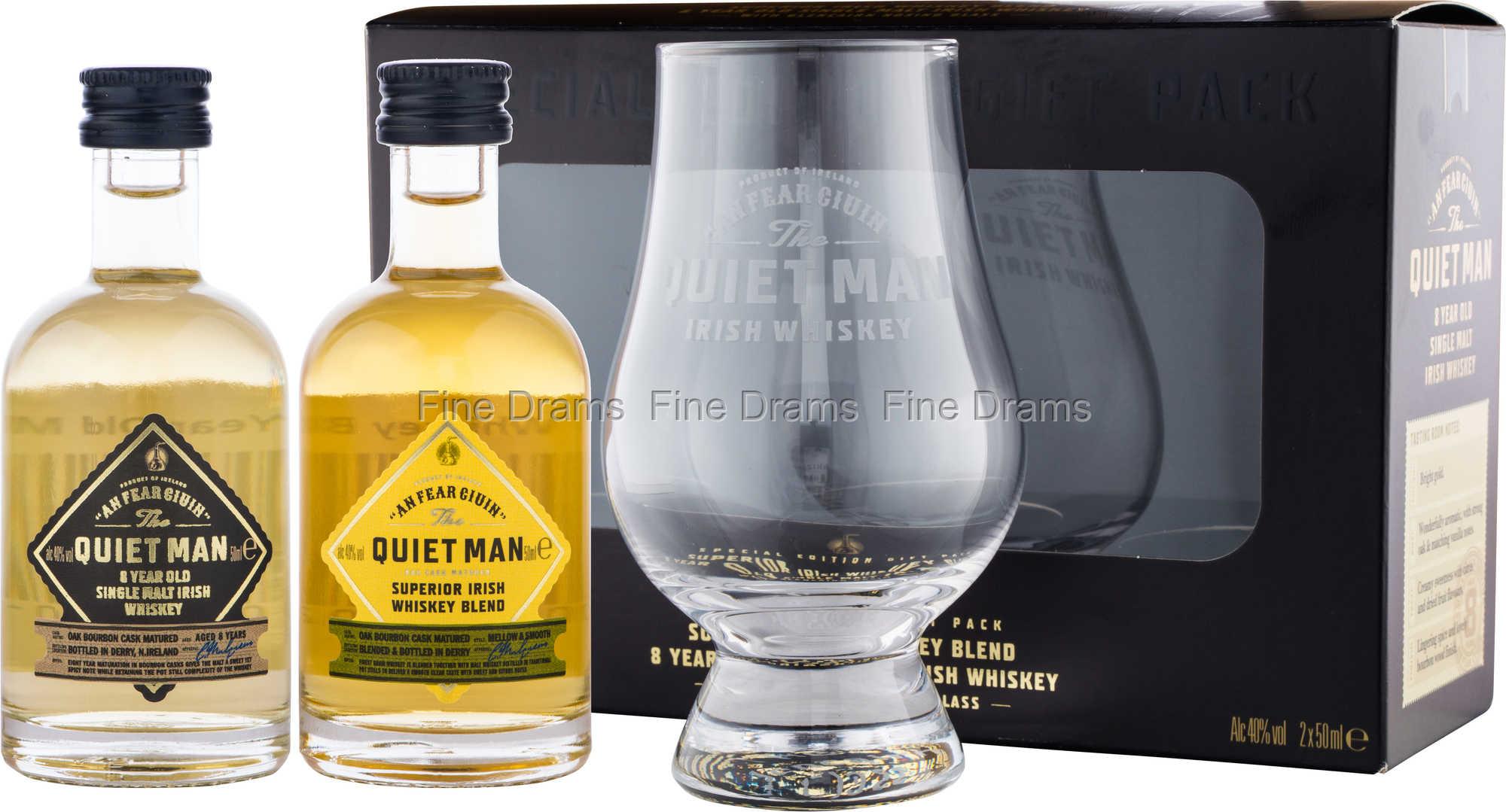 Quiet Man Glencairn Whisky Gift Pack