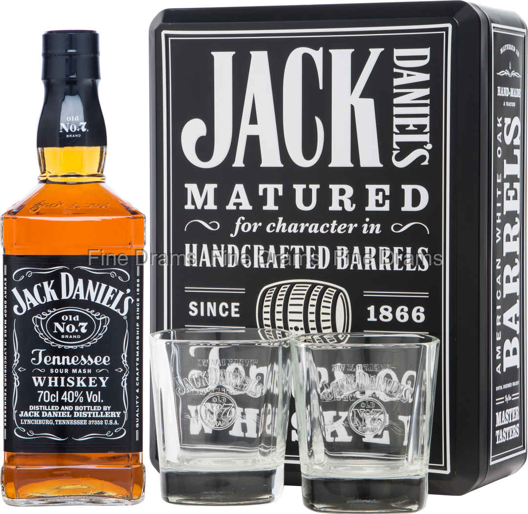 Jack Daniel's Old No. 7 Gift Pack - 2 Glasses