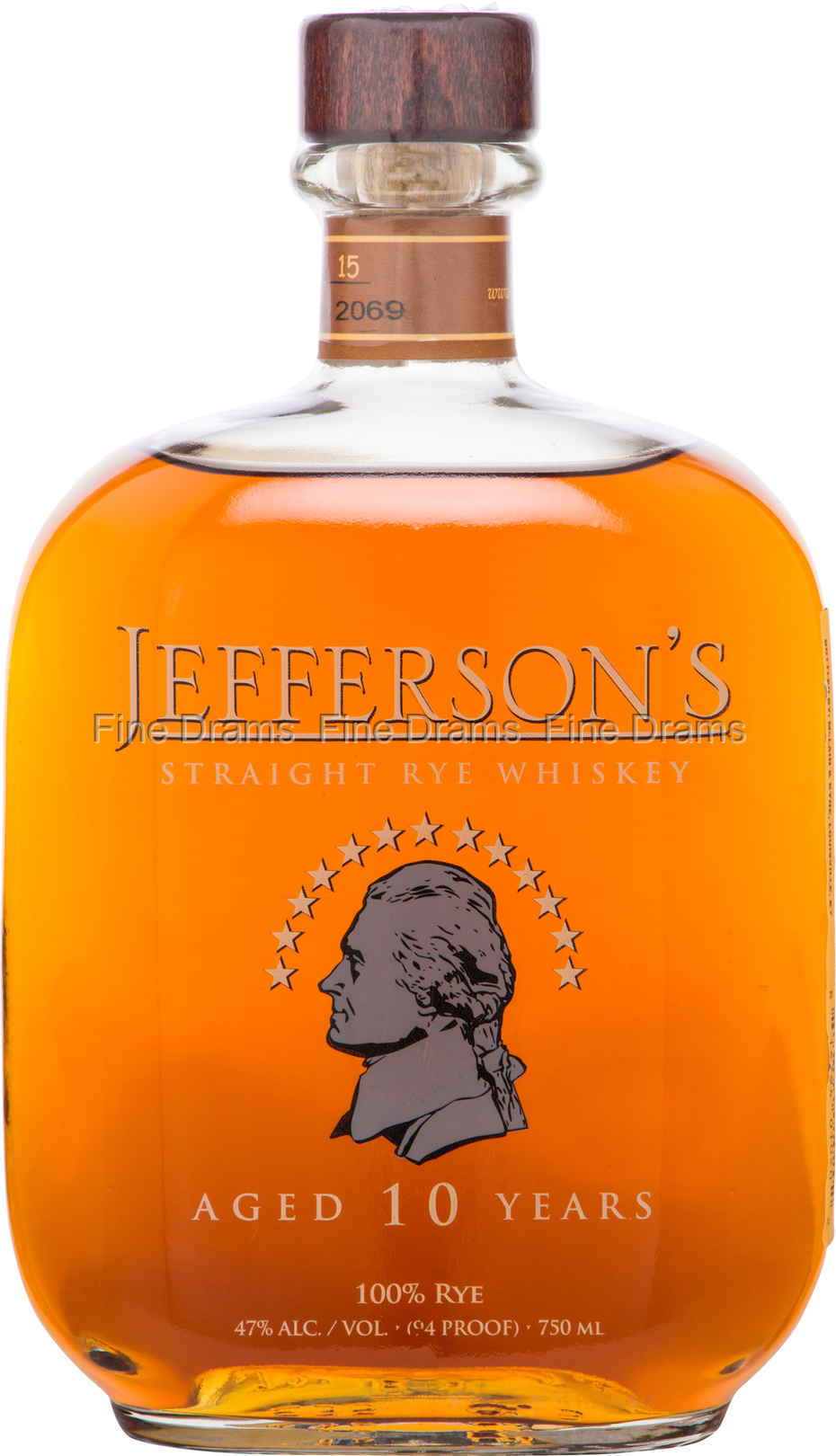 7bcd1cab0ce Jefferson s 10 Year Old Rye Whisky