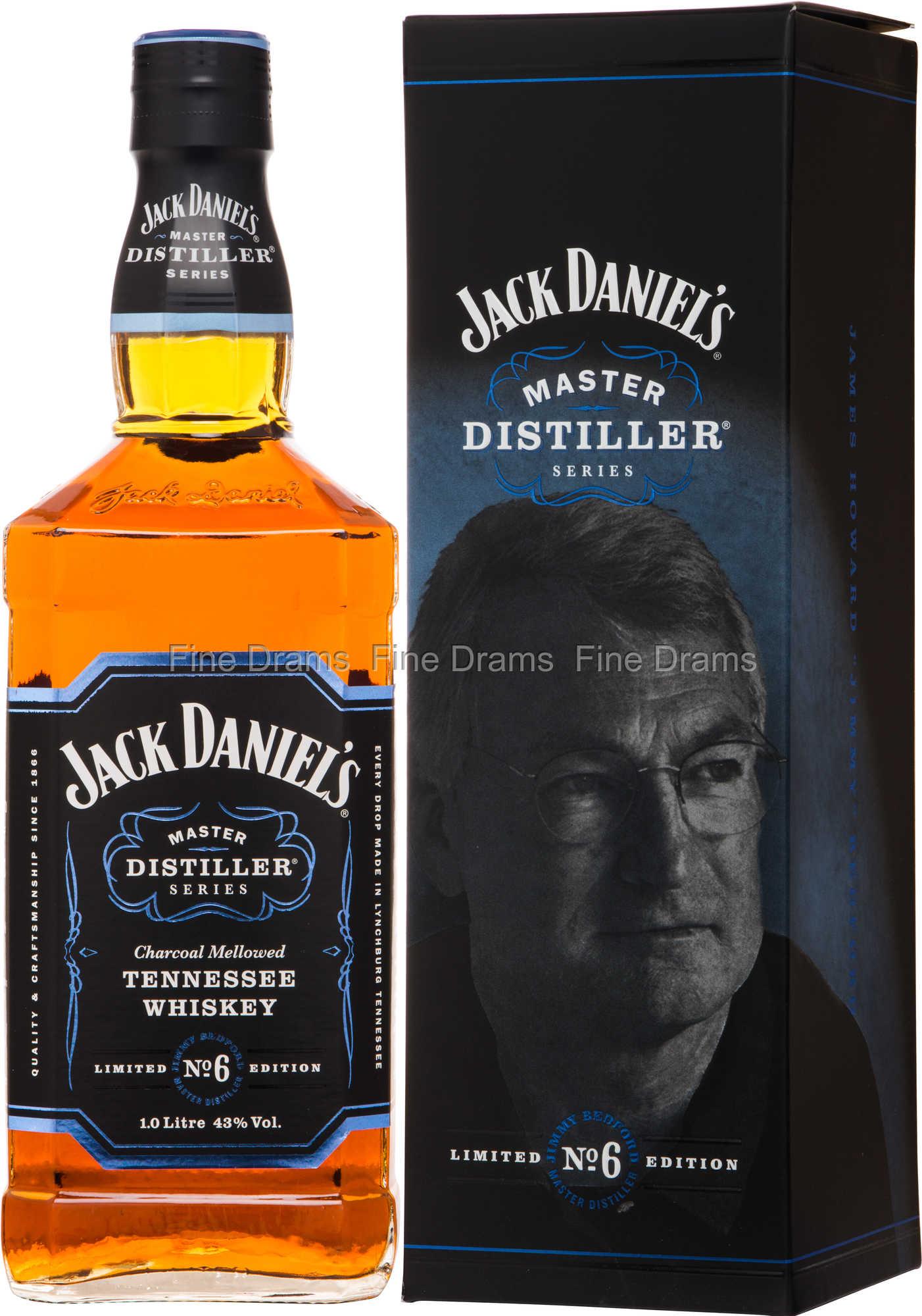 Jack Daniel's Master Distiller No. 6 Whisky (1 Liter)