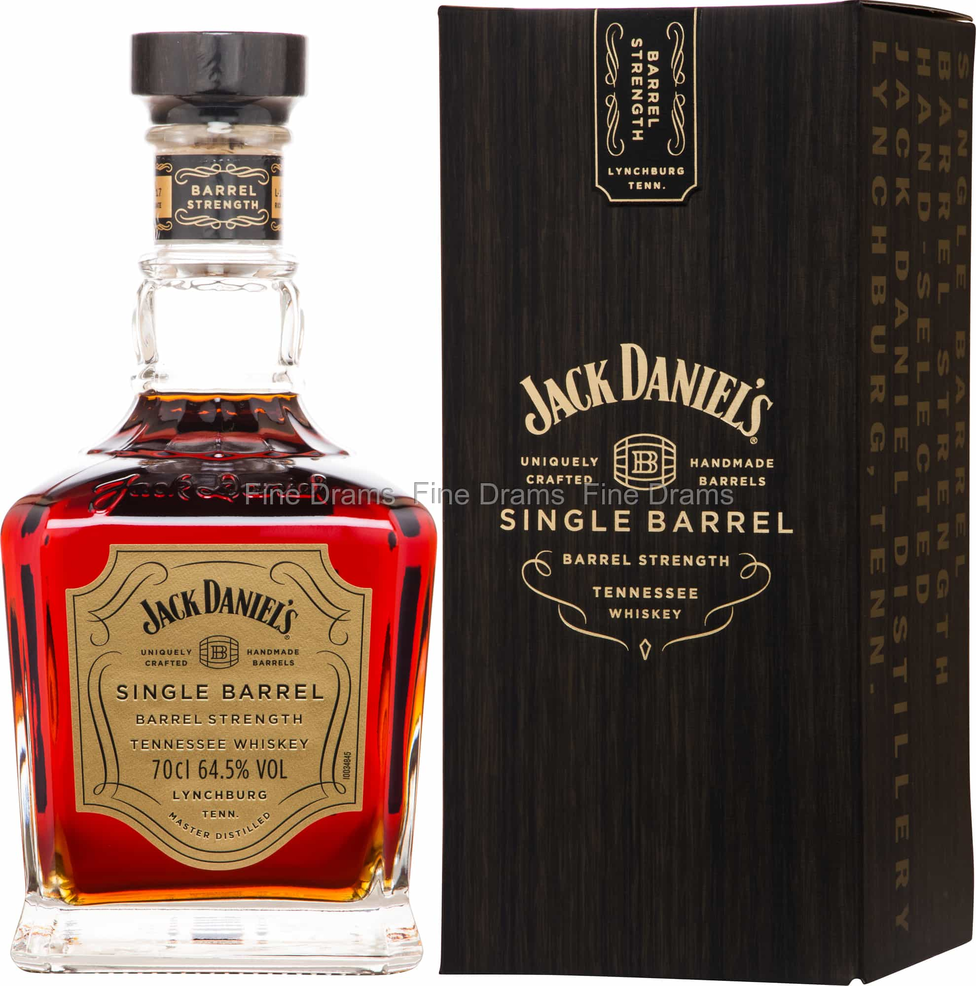 Jack Daniel's Single Barrel Barrel Strength Tennessee Whiskey