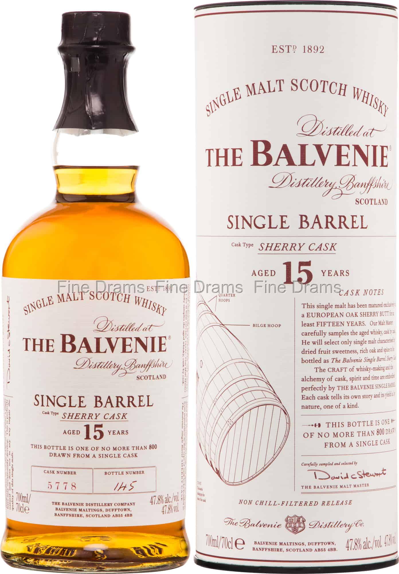 balvenie sherry single cask