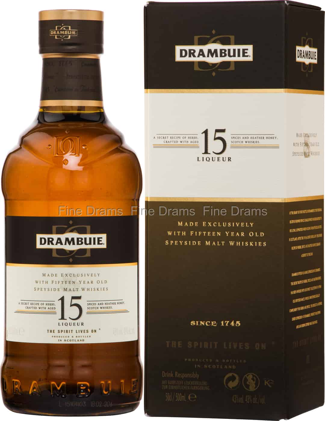 50 Year Old Whiskey >> Drambuie 15 Year Old Whisky Liqueur 50 Cl 50 Cl 43