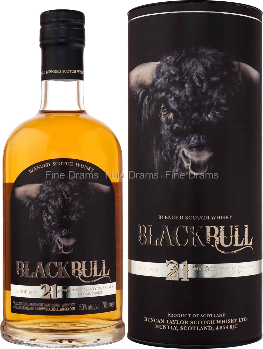 50 Year Old Whiskey >> Black Bull 21 Year Old 70 Cl 50